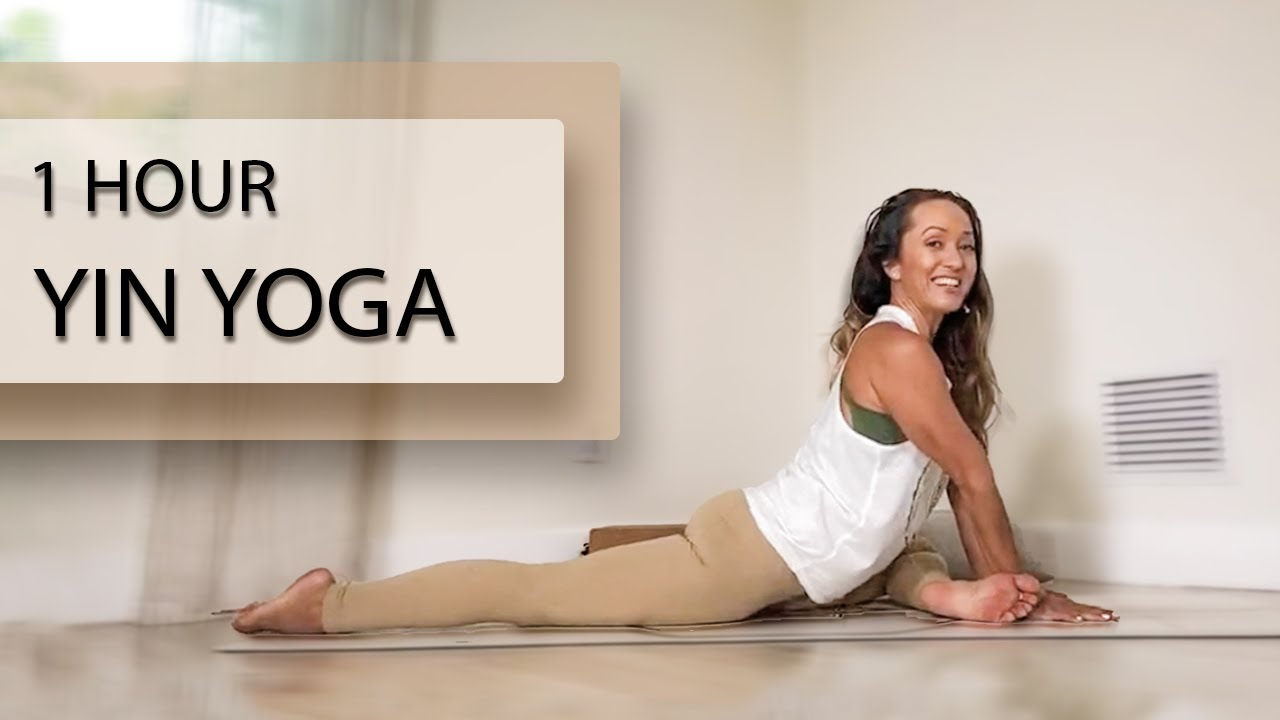 Calming Yoga for Deep Stretch and Relaxation — One Hour Yin Class