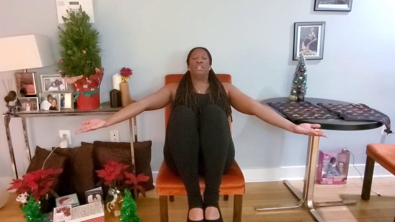 Restorative Chair Yoga Challenge!!