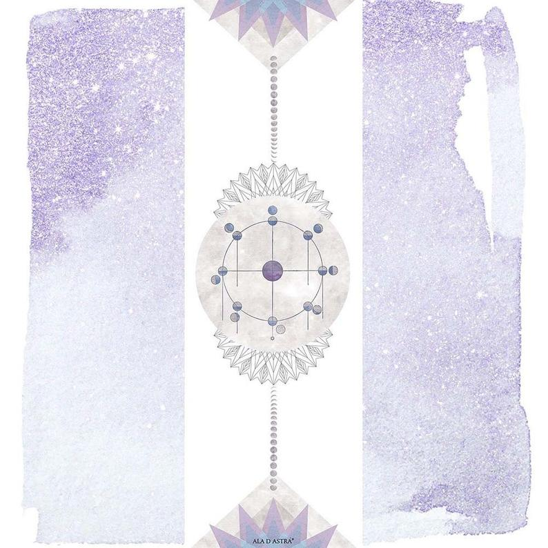 Aladastra Mooncycle Yoga Mat