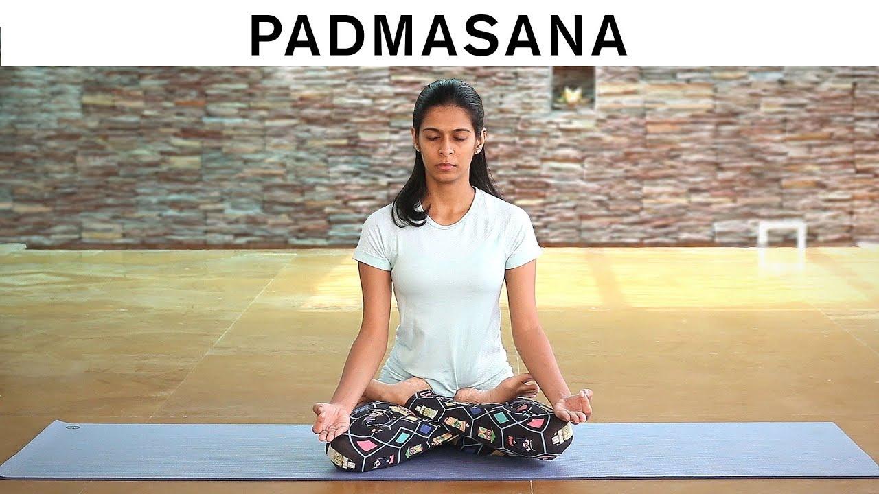 How to do Padmasana – Lotus Pose