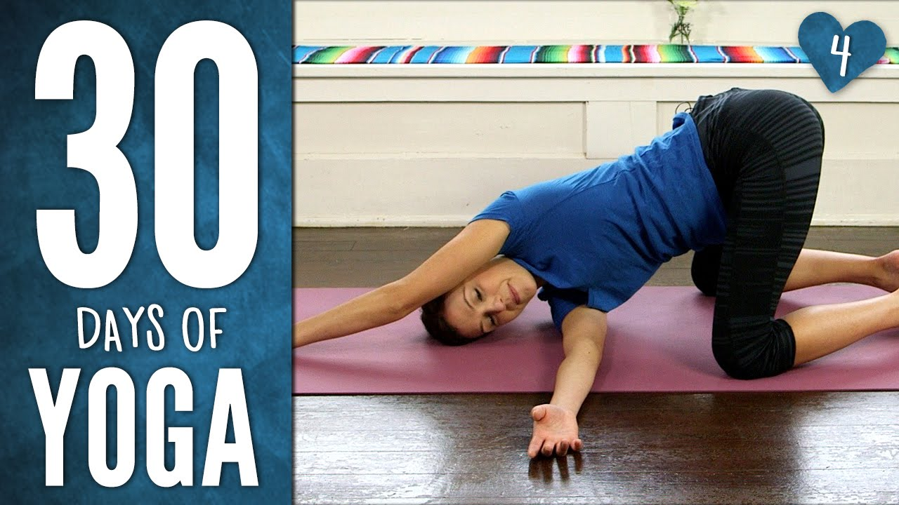 Day 4 – Yoga For Your Back – 30 Days of Yoga