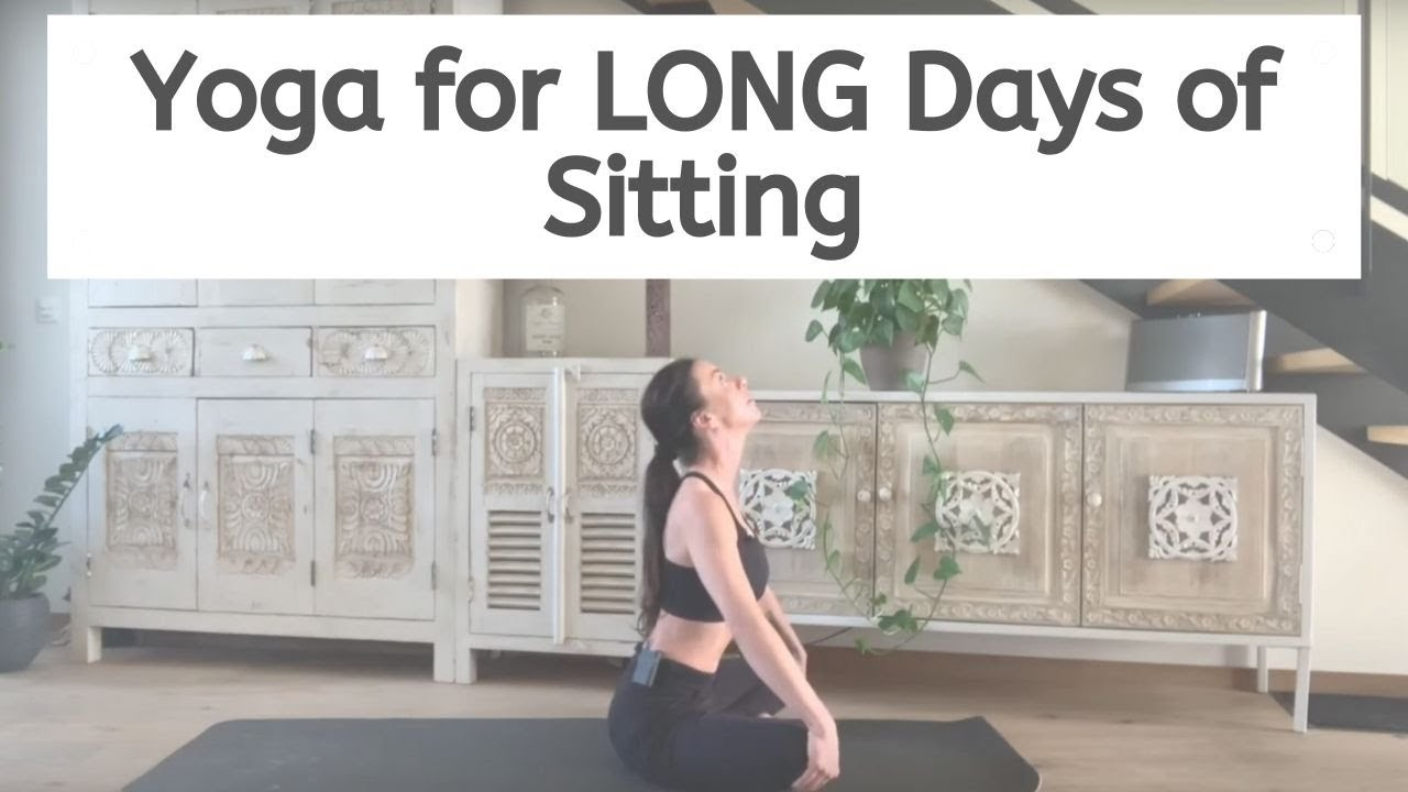 Yoga Stretch For Long Days Of Sitting with Charlie (10 mins + 4 mins extra poses & intro)