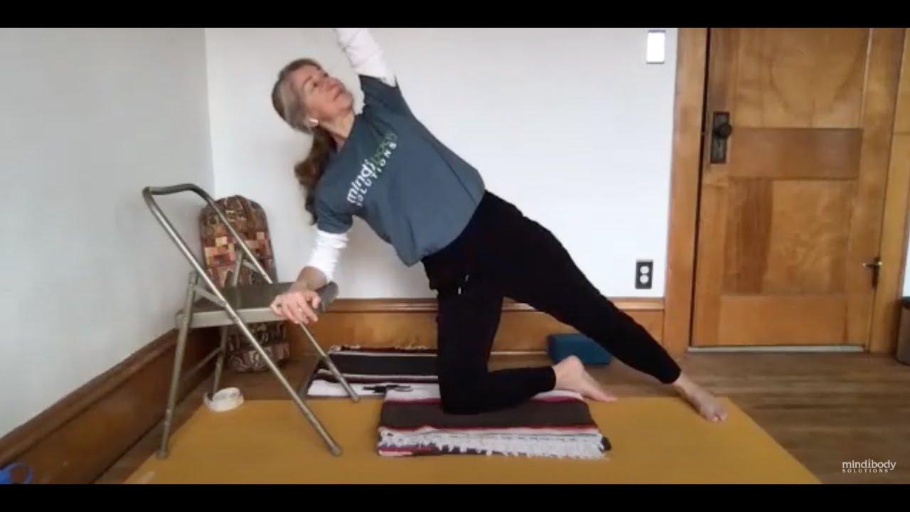 Online Adaptive Yoga Class | Opening to Vasisthasana  / Side Plank Pose | 60 Minutes