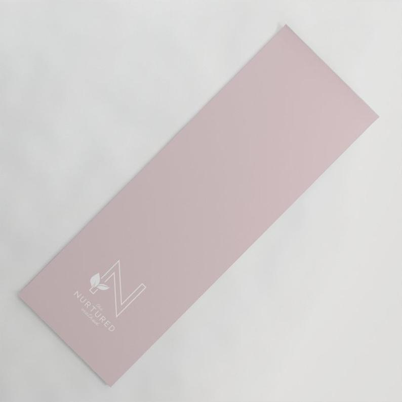 Yoga Mat With Your Own Logo: Any Text Or Design On Your Stylish Personalized Fitness Mat, Perfect As Custom Gift Or A Gym/Yoga/Pilates Lover