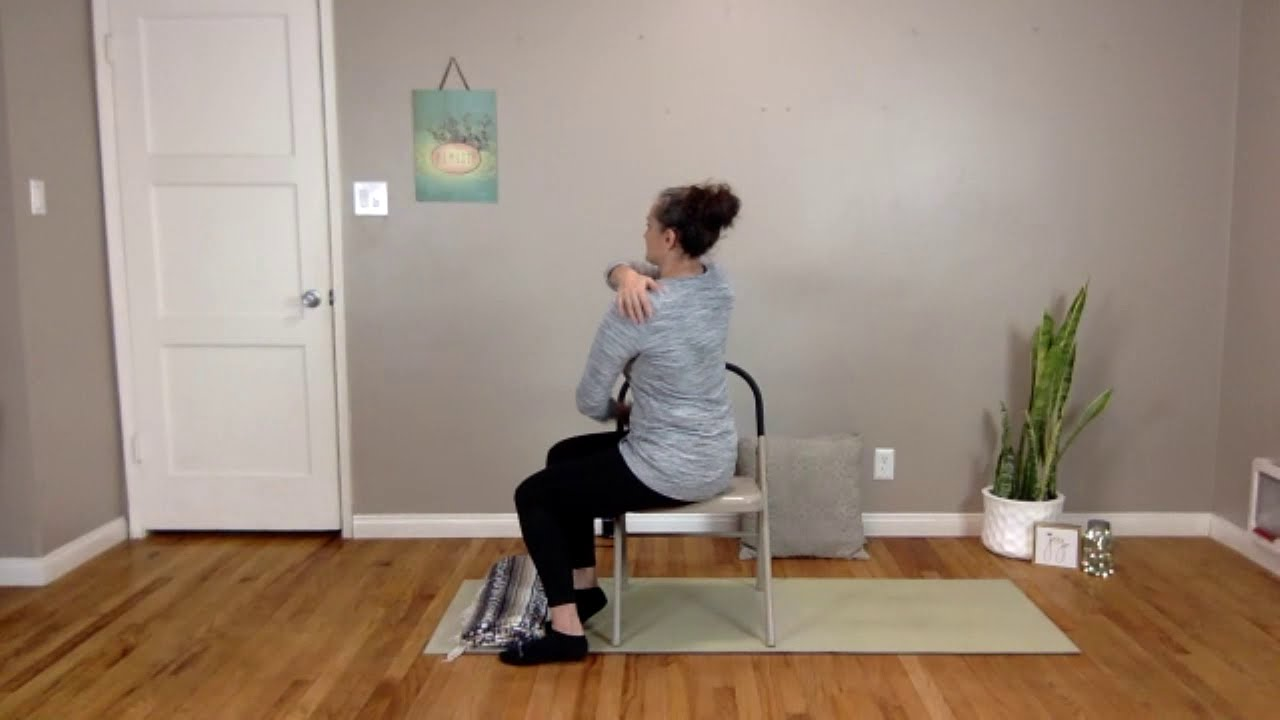 VERY gentle December 17 Chair Yoga