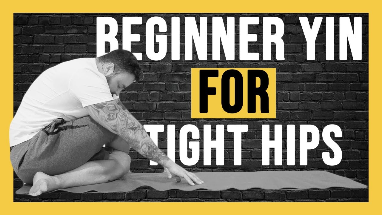 45 min Yin Yoga for Beginners NO PROPS  | 4k Yoga for Tight Hips| Yin Yoga With Matt
