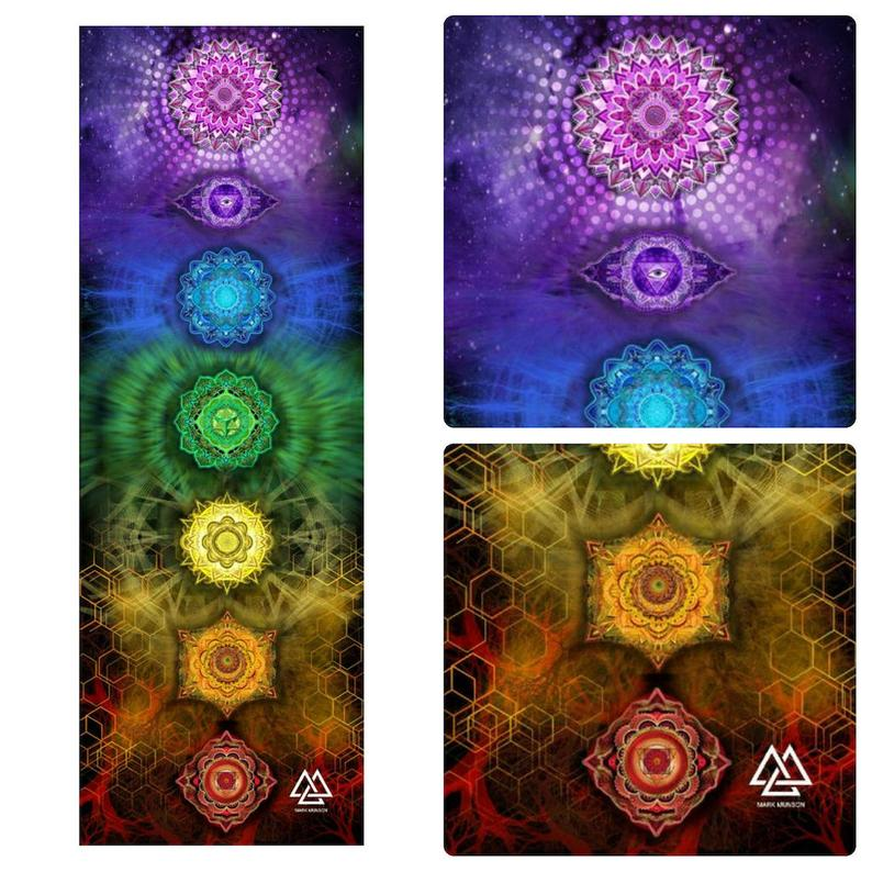 Chakra Systems Yoga Mat by Mark Munson + Metta Mats