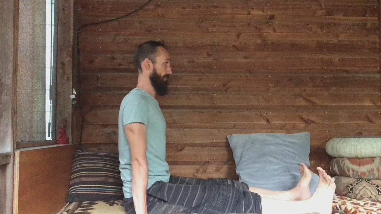 Posture: Staff Pose / Dandasana Sitting Position