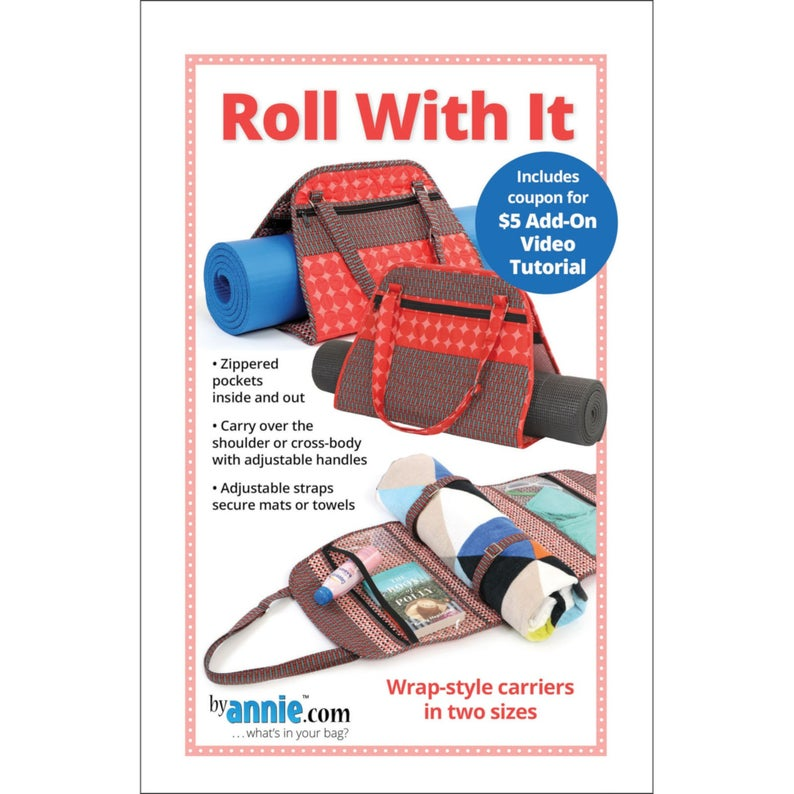 ROLL WITH It – Wrap Style Carrier Pattern By:  Annie