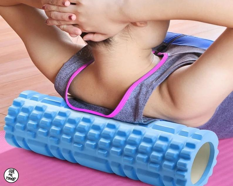 Yoga Mat Column Gym Fitness Foam Roller Sports Fitness for Exercise Yoga and Pilates Gymnastics Workout Roller Muscle Massage Roller