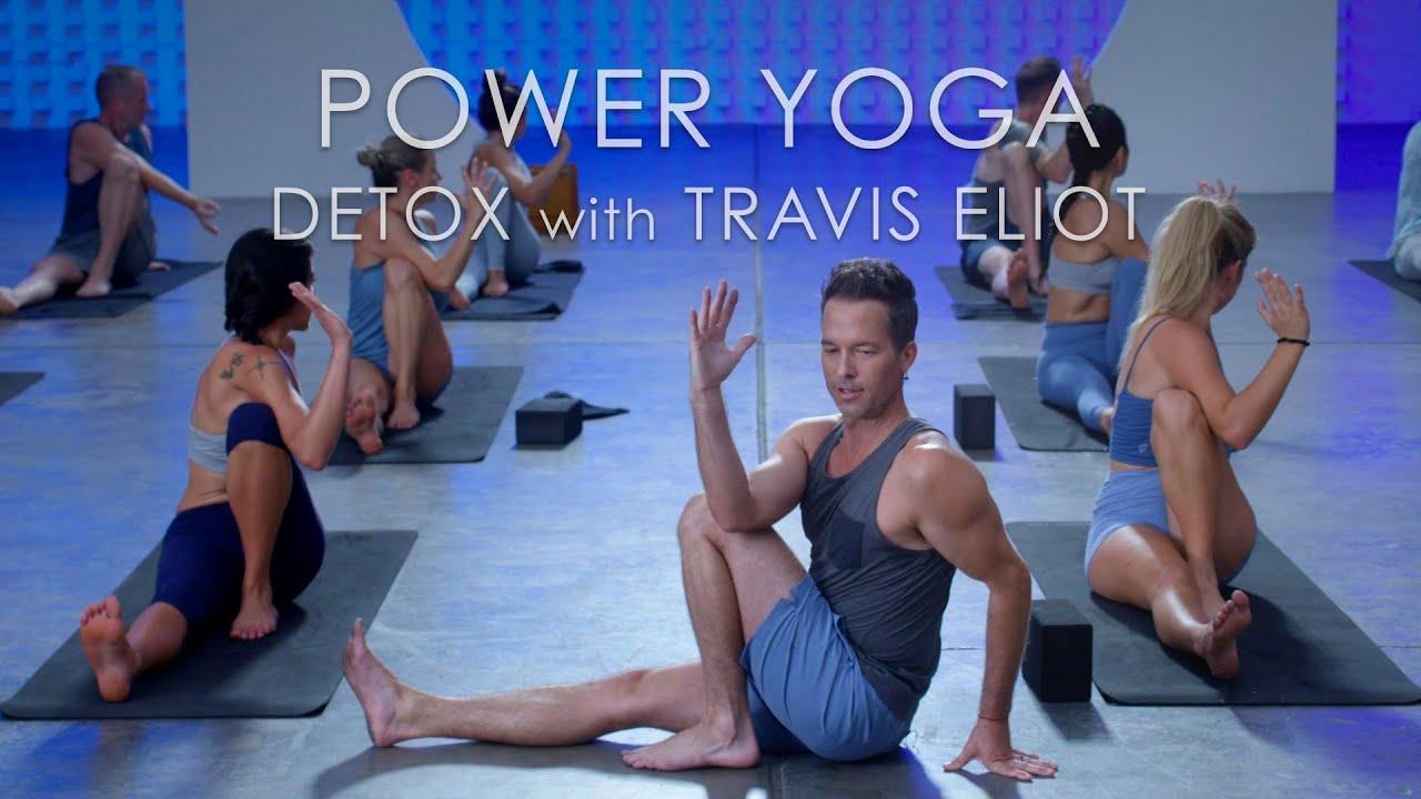 "60min. Power Yoga ""Detox"" Class with Travis Eliot – Level Up 108 Program"
