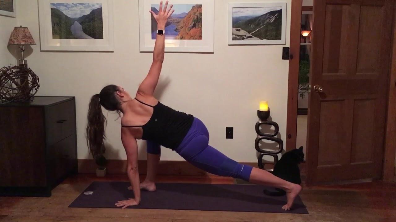 Yoga for Oblique Strength/Opening (No Forward Bends)