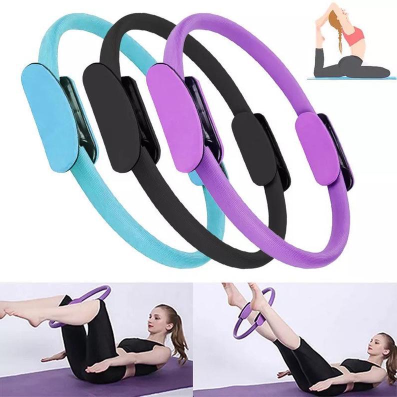 Yoga Circle, Pilates Magic Ring, Fitness Ring, Circle Gym, Workout Pilates Accessories