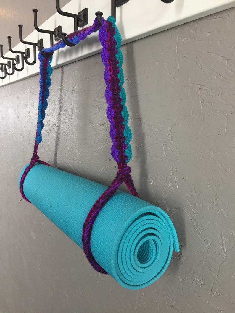Scalloped Yoga Mat Strap