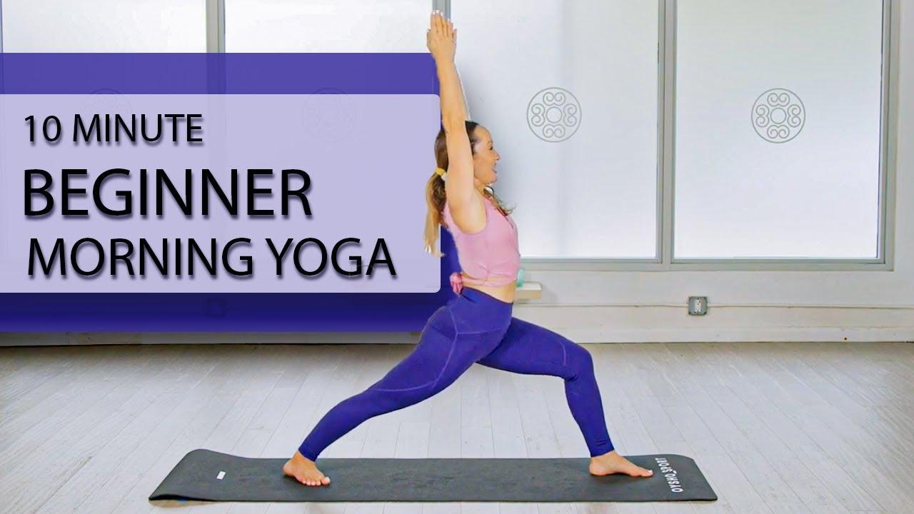 10 Minute Beginner Morning Yoga — Relaxing Full Body Flow