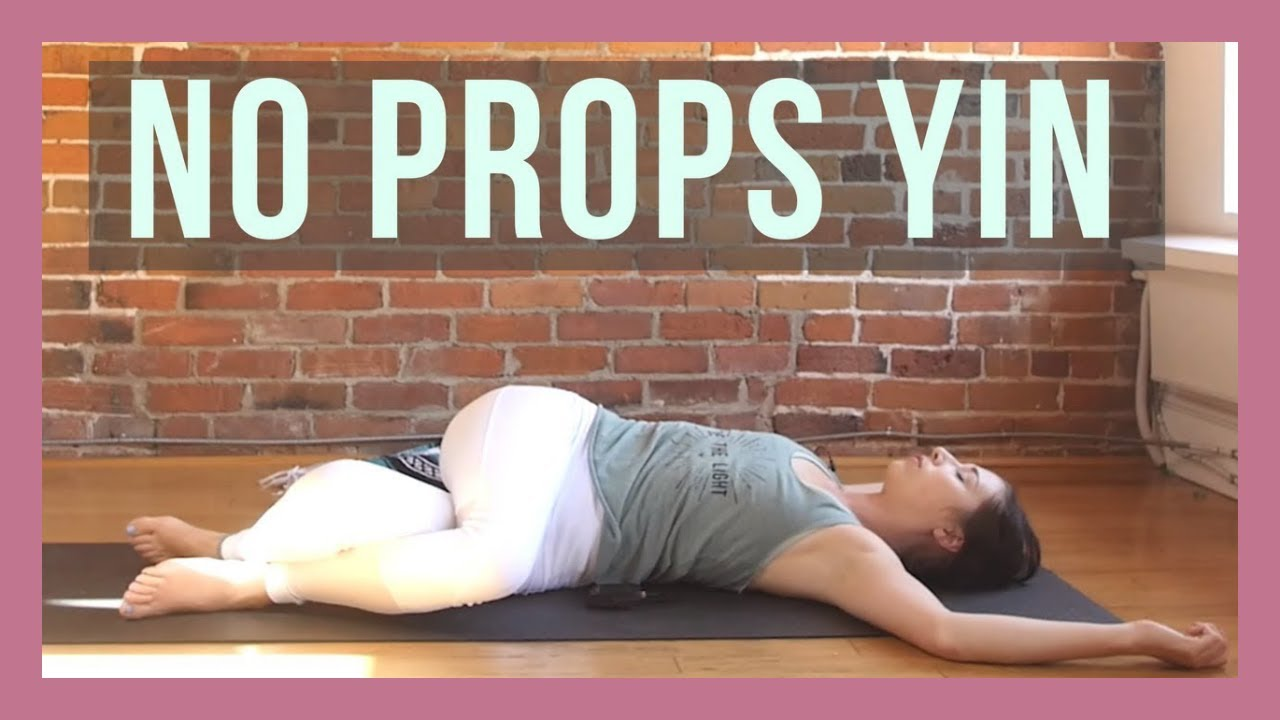 Yin Yoga Without Props – Full Body Yin Yoga for Beginners