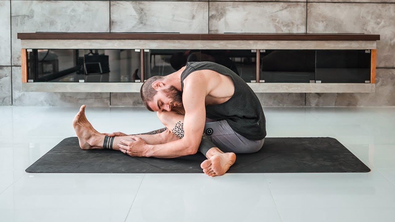 50 Minute Full Body Yin Yoga Practice   Breathe and Flow Yoga