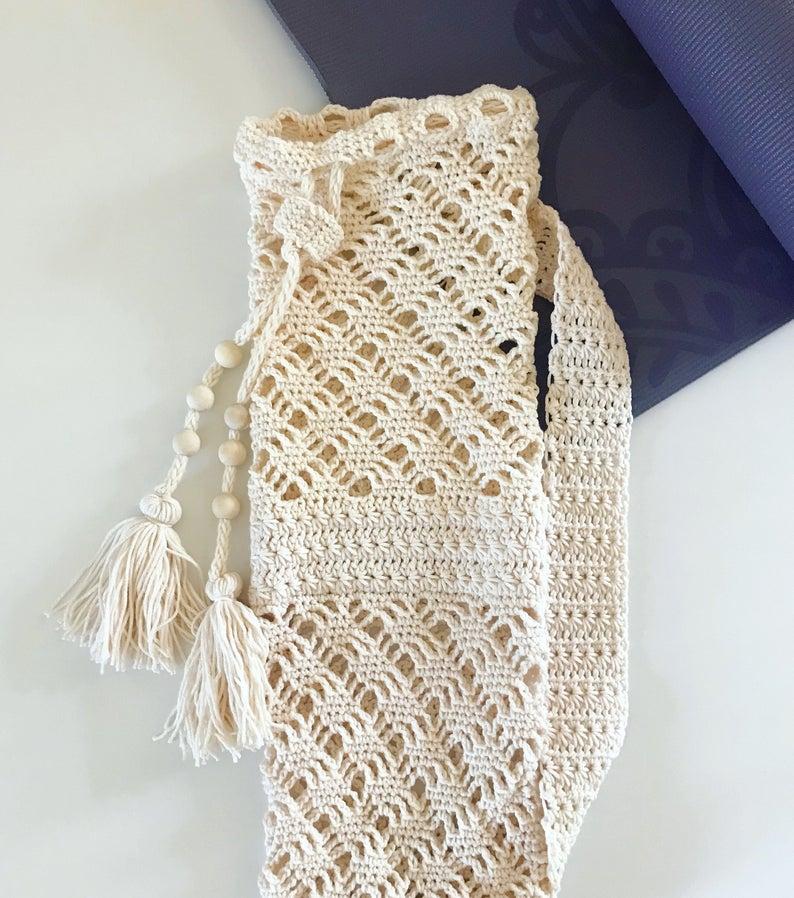 Ocean's Breath Yoga Bag – Crochet Pattern