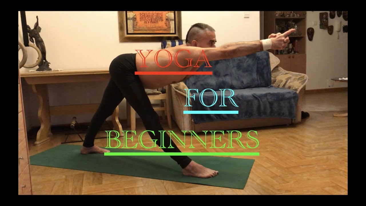 Yoga for Beginners/Joga Dla Poczatkujacych/Йогаа для начинающих.Standing Positions.