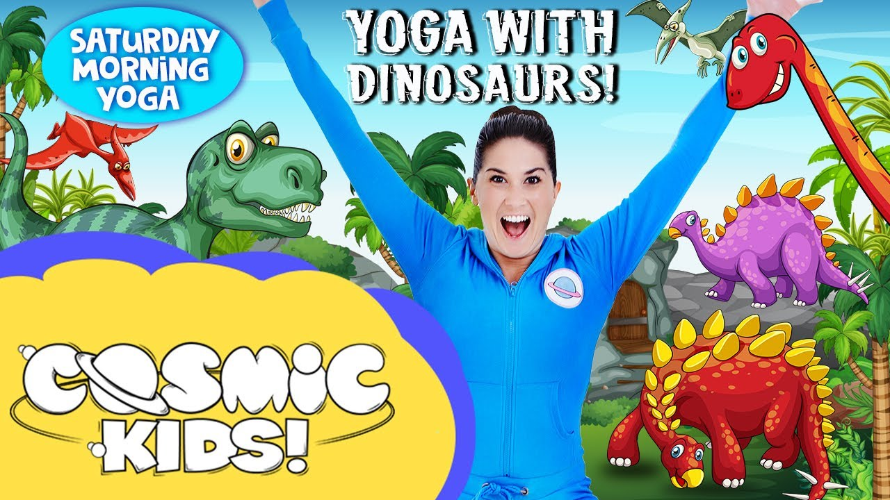 Kids Yoga with Dinosaurs | Cosmic Kids