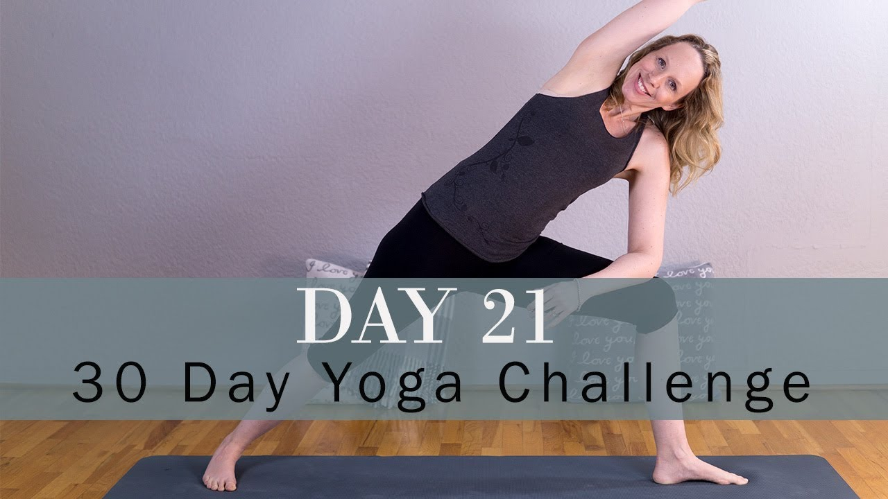 How to Grow Taller with Yoga | 30 Day New Year Challenge | Day 21