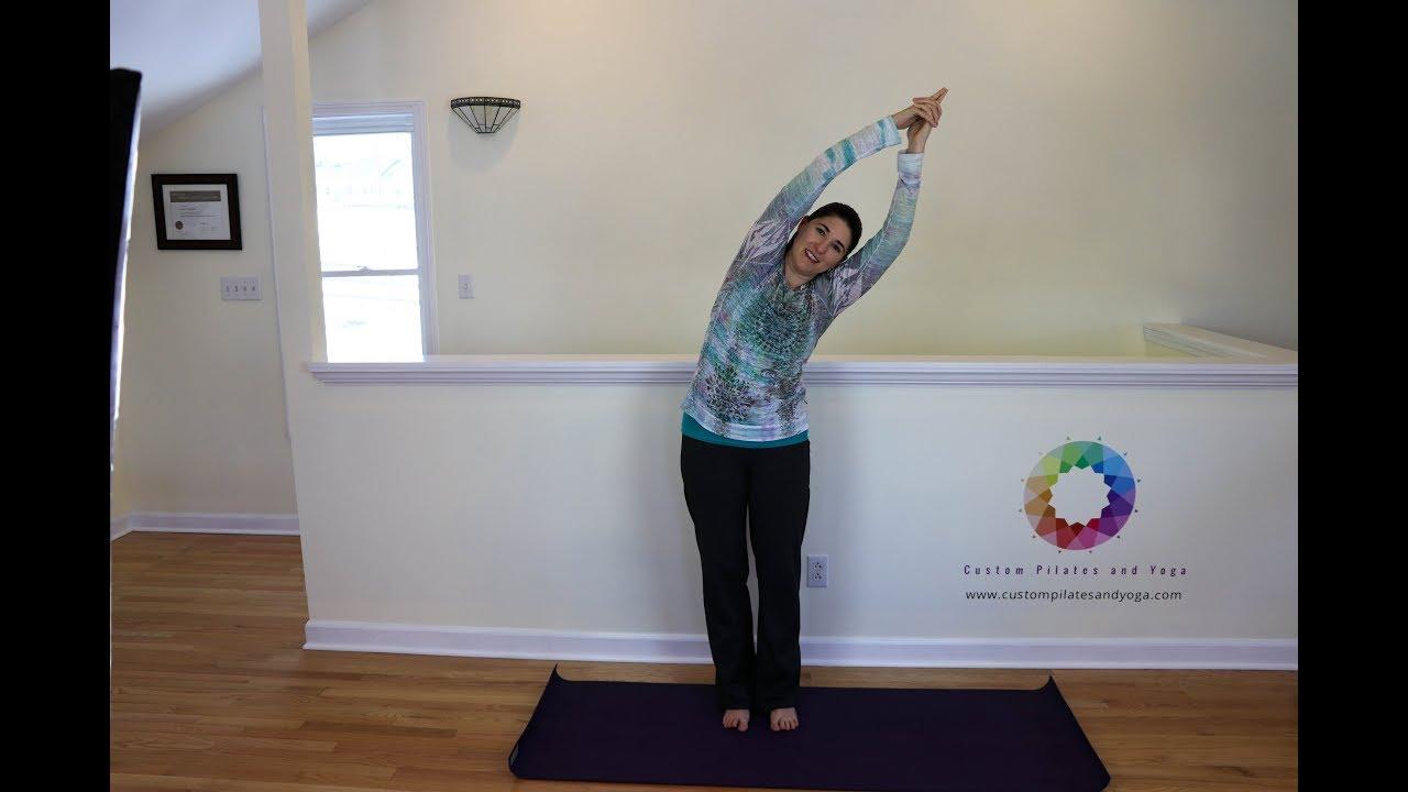 Standing Side Bend Pose (Parsva Tadasana)