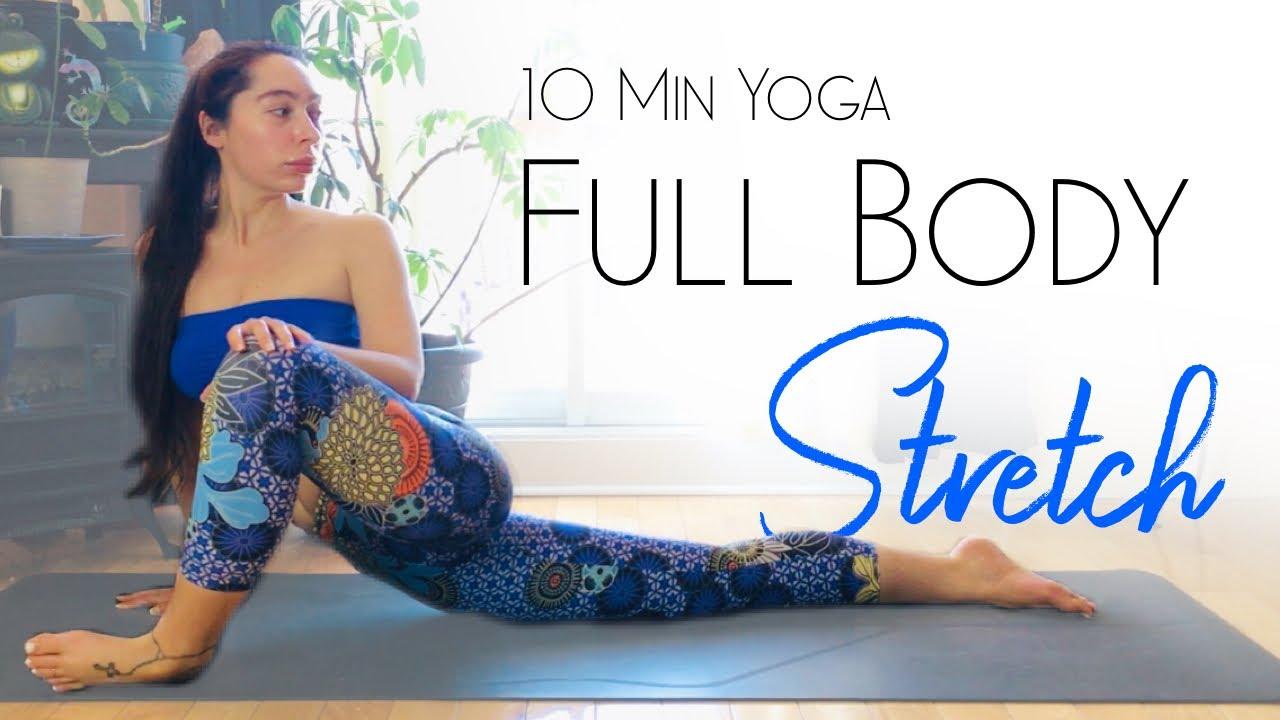 10 Minute Yoga Full Body Stretch