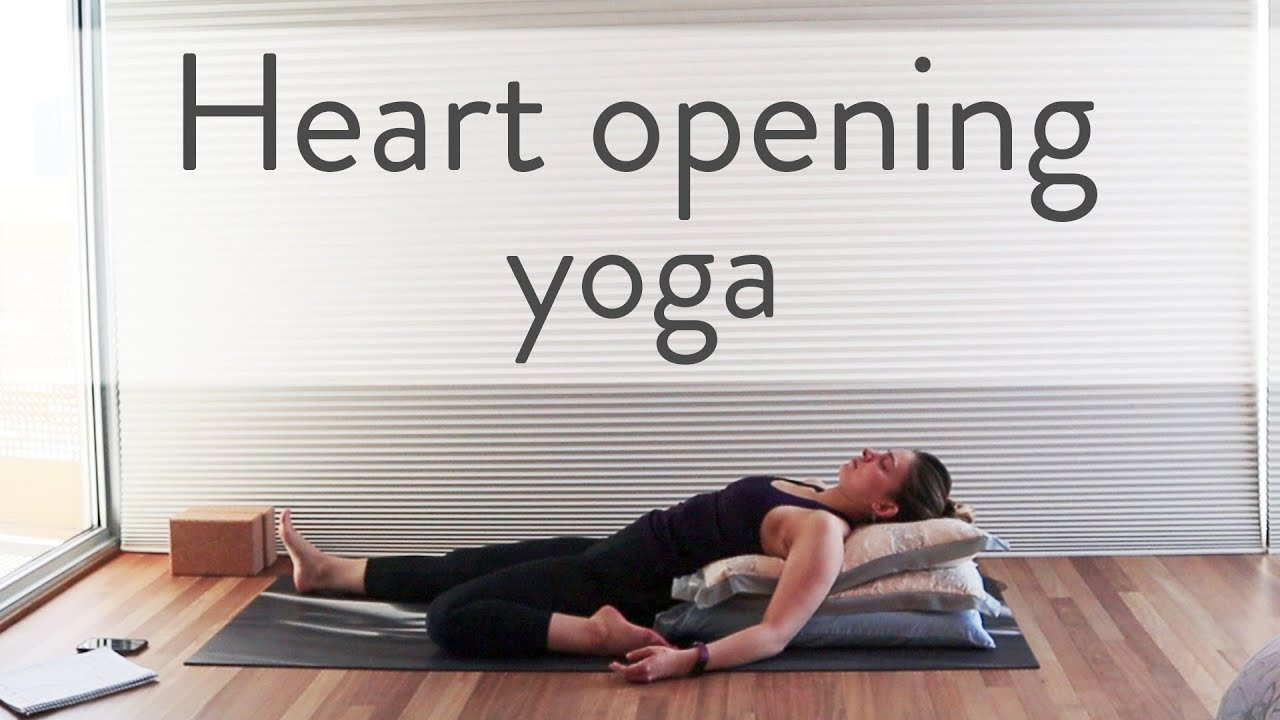 60 min YinYang Yoga – Open the Heart through Backbends – Suitable for Beginners