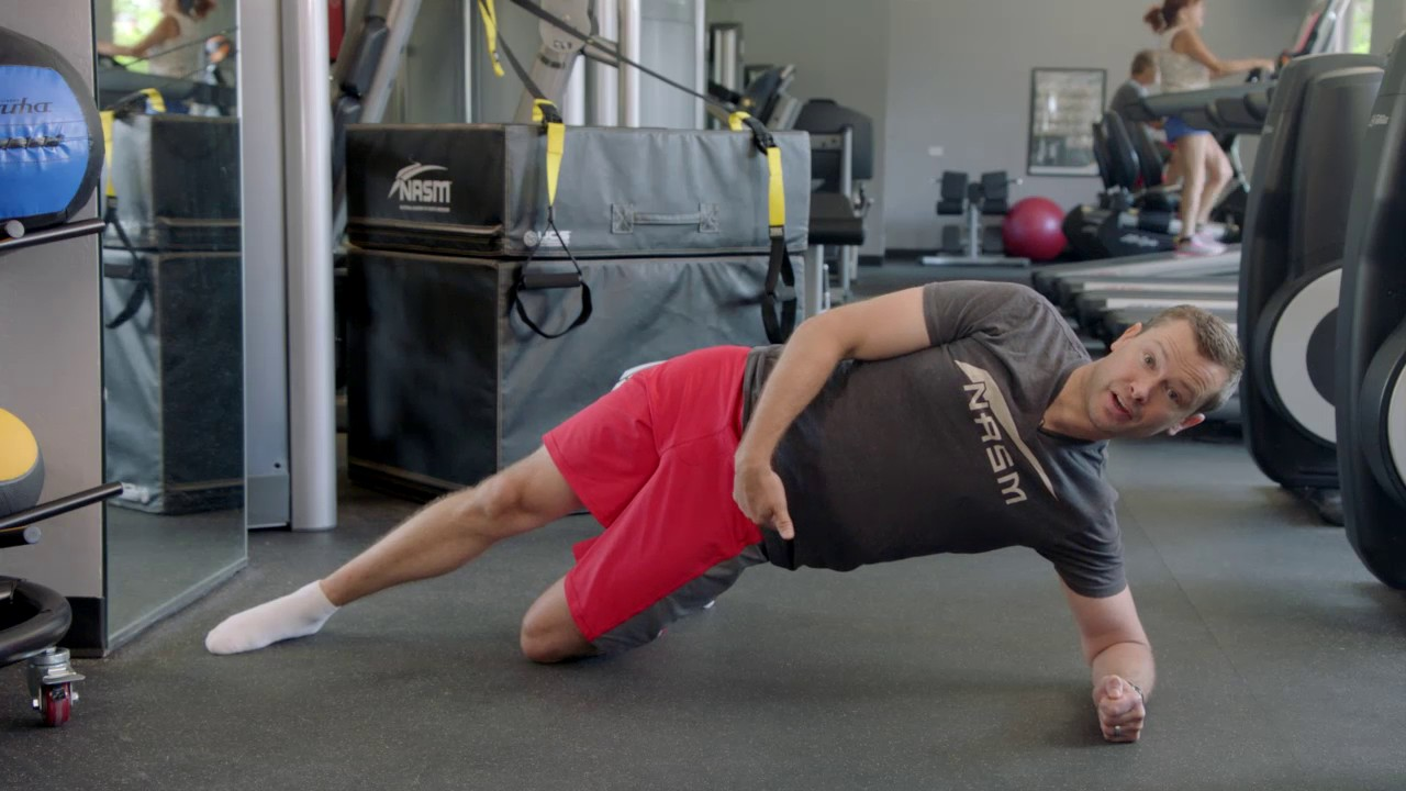 How to Do a Modified Side Plank