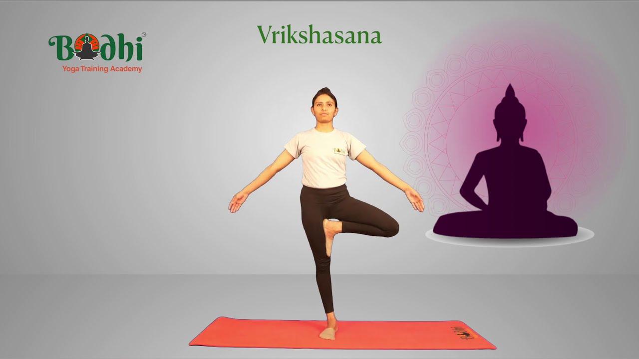 How to do Vrikshasana ? (Tree Pose )