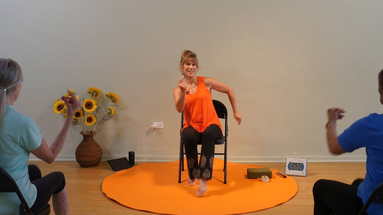 Energizing Chair Yoga for the Entire Body with Sherry Zak Morris, Certified Yoga Therapist