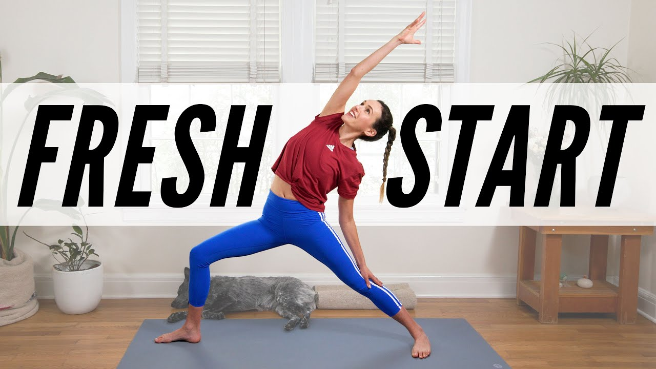 Yoga For A Fresh Start  |  Yoga With Adriene