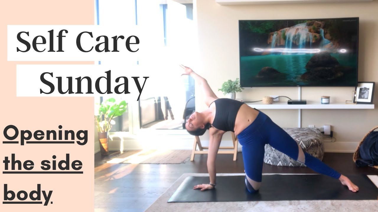 Self Care Sunday – Yoga For Dancers (Opening the Side Body Flow)