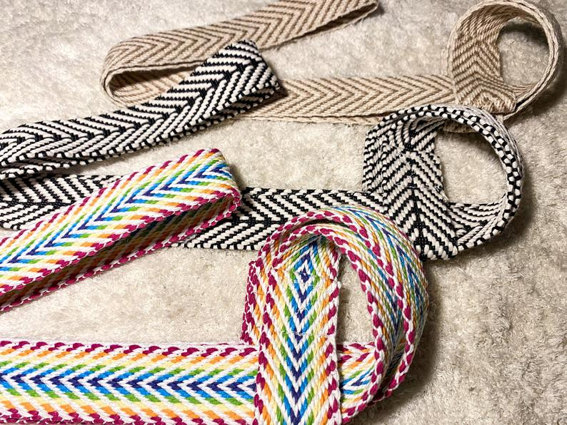 Chevron Trifecta | Skate Leash (Adjustable) | Yoga Mat Strap | Carrying Belt | 3-Pack | Friendship Gift