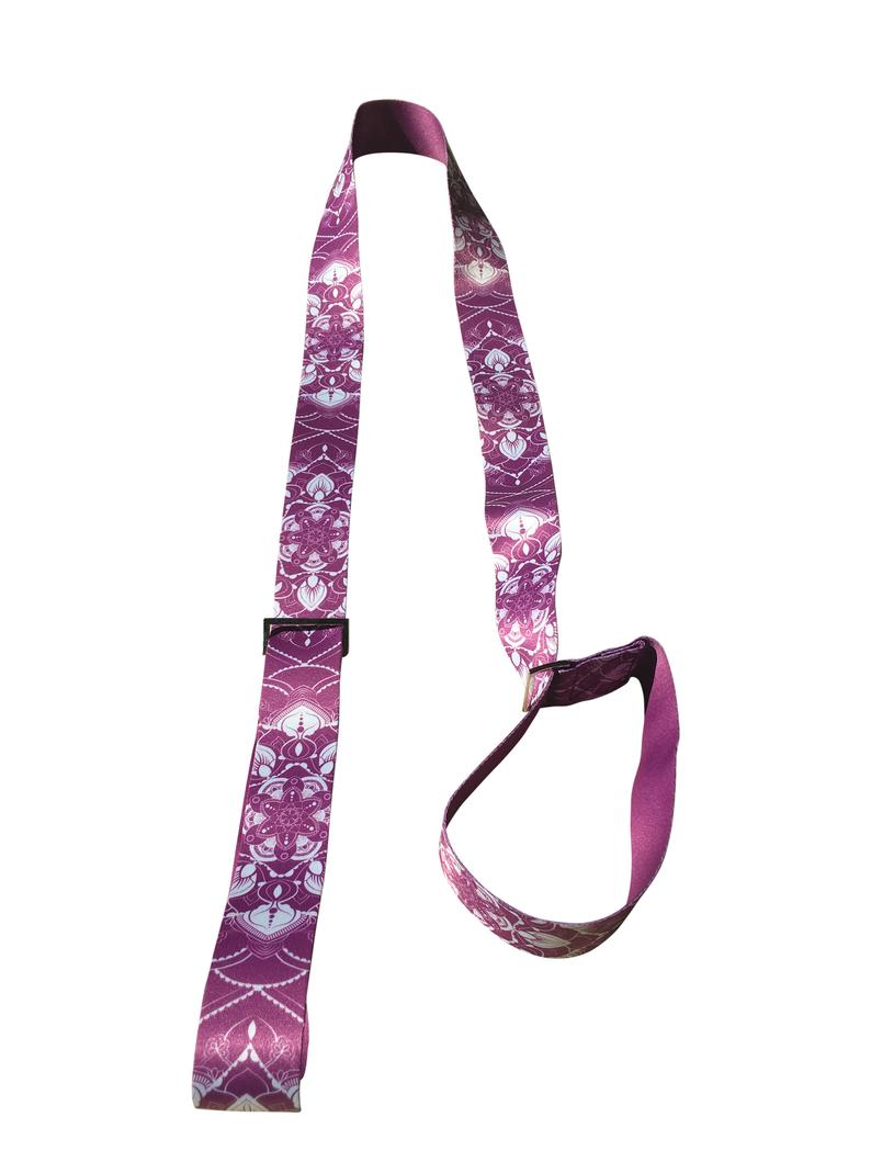 Yoga Stretching Strap, Yoga Mat Strap, Carrying Sling, Yoga Accessories and Gift