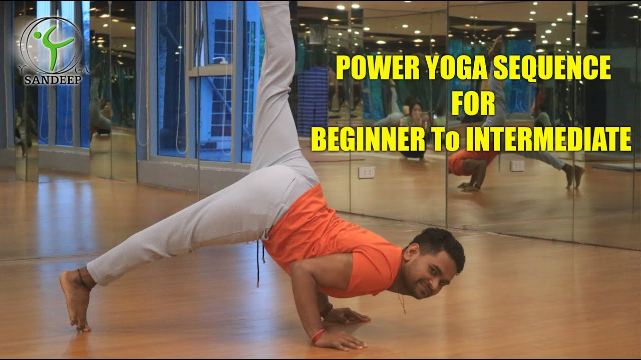 POWER YOGA SEQUENCE FOR BEGINNER To Intermediate  | Yoga With Sandeep | Vietnam