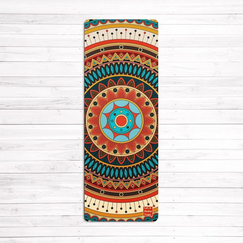 Amazing custom design Yoga mat Pacification mandala