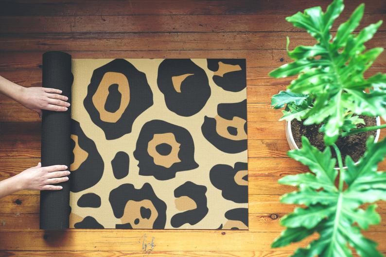 Leopard Custom Yoga Mat