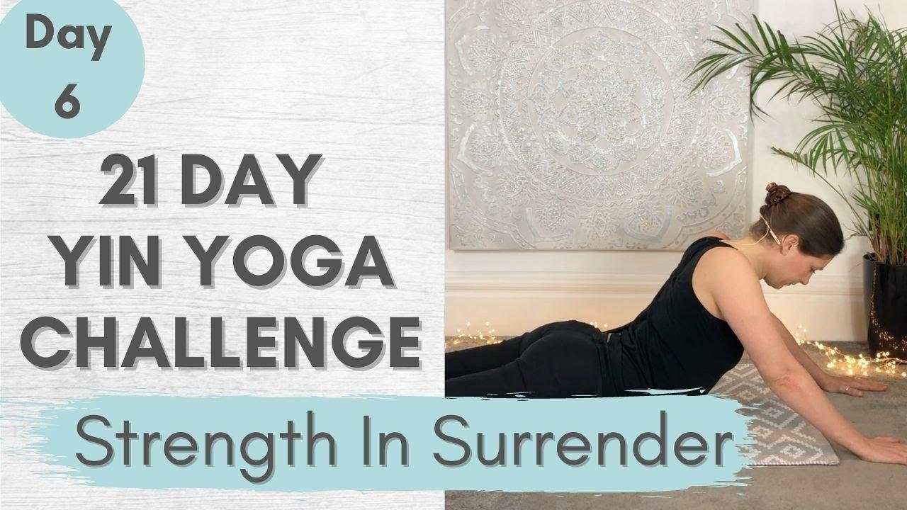 Yin Yoga Challenge – Yin Yoga Class Day 6