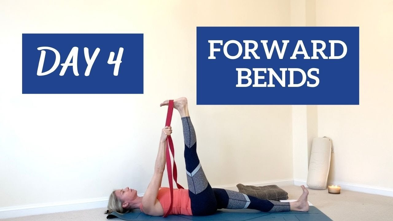 Yoga for Teens and Students Challenge DAY 4 Forward Bends