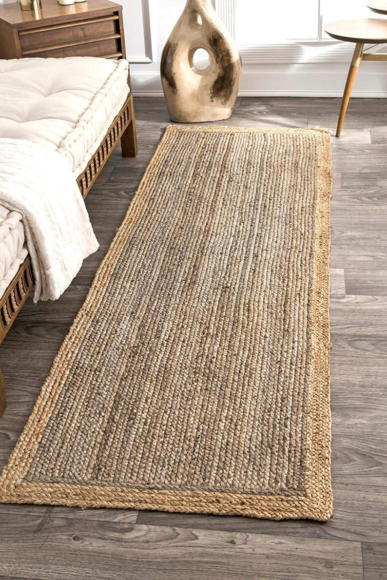 2×6,2×8,2×10,2×12,2×14,2×16,2×20′ Ft. Rug runner braided, RUG RAG meditation mat runner rug||jute floor runner||indoor area rug||morocco rug