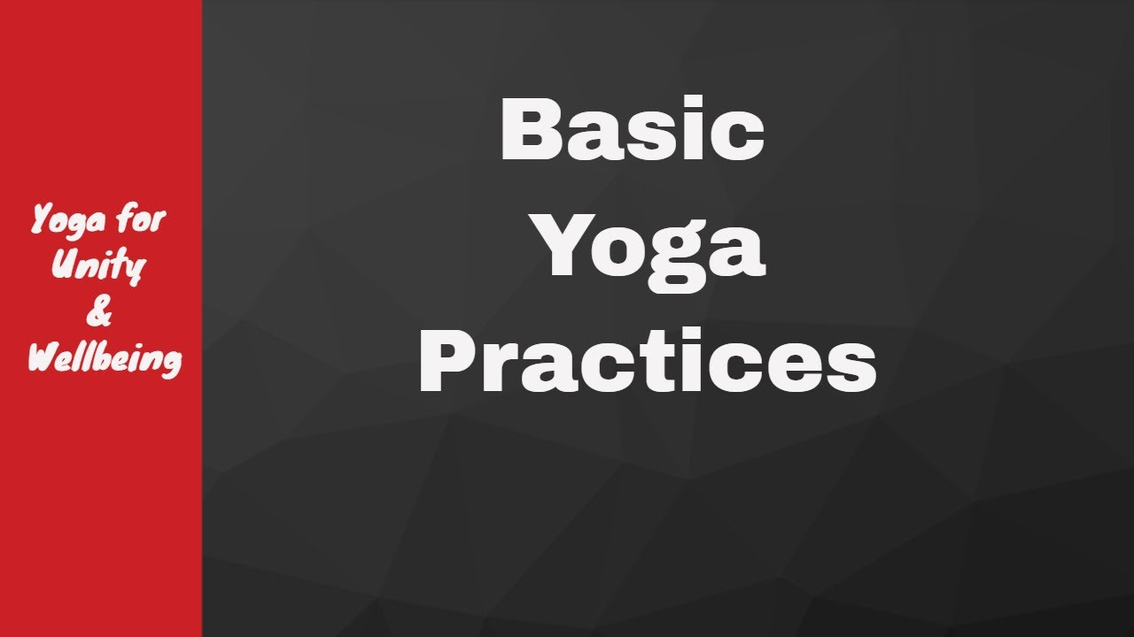 #14 Basic Yoga Practices by Kaivalyadham with Heartfulness Meditation