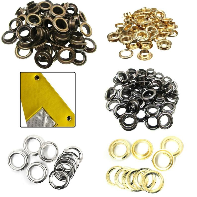 14mm – 20mm Brass Rust Proof Eyelets with Washers for Banners Making Yoga Mats