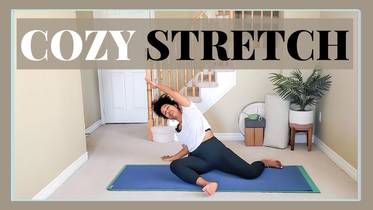 Slow Seated Yoga Stretch | Cozy Full Body Stretch