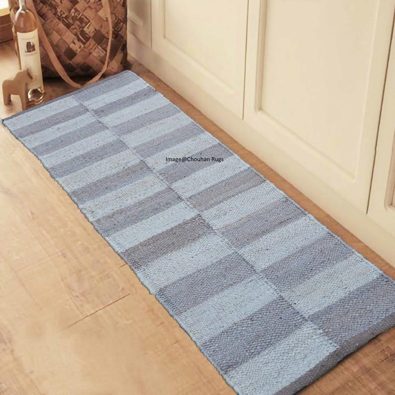 2×6′,2×12′,2×20′ Handmade Jute Rug Yoga mat throw carpet Hand loom Hemp Jute Runner Rug hand loomed Decorative Rug Doormat Bed side Runner