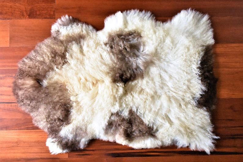Sheepskin Rug, Fabulous Sheepskin Pelt, Ethically Sourced Swedish Rug