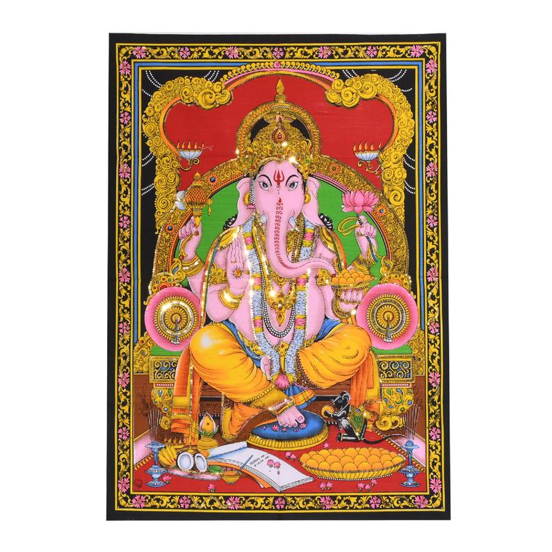 tapestry ganesha tapestries spiritual tapestry wall hanging tapestry wall decor poster indian cotton tapestry indian god tapestry