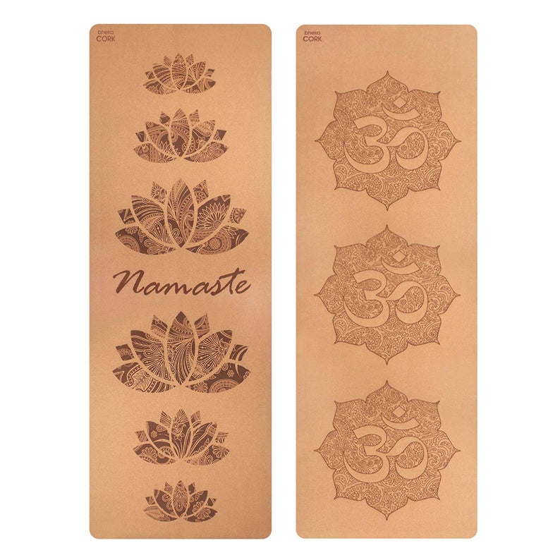 see Cork Yoga Mats with Namaste or OM Design