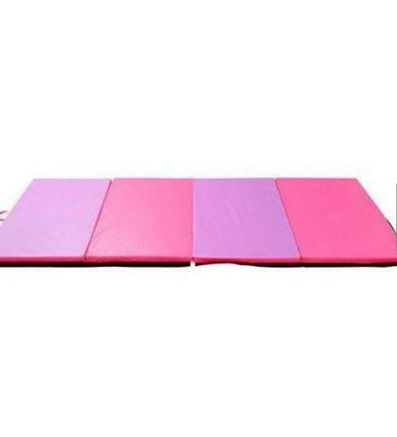 Folding Gymnastics Mat Exercise Tumbling Yoga Workout Fitness Panel Thick Gym