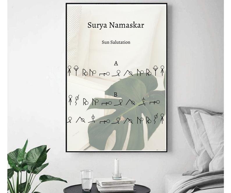 Surya Namaskar Poster
